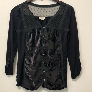 Anthro Meadow Rue Blouse 3/$25